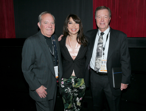 Ron and Allen Fields with Illeana Douglas.