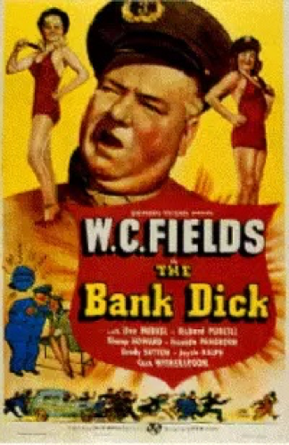 Poster for The Bank Dick.