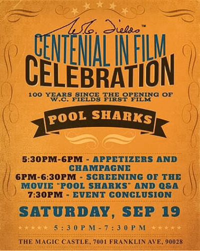 Centennial in Film Celebration poster.