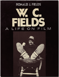 Book cover for W.C. Fields A Life on Film.