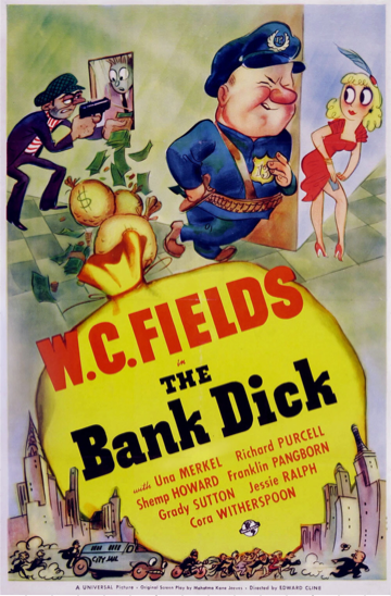 The Bank Dick poster.