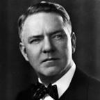 Portriat of W.C. Fields wearing a bow tie